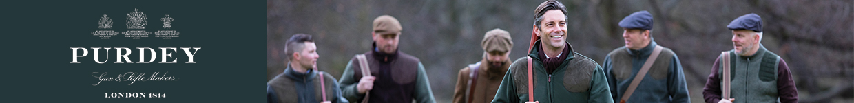 James Purdey and Sons Clothing and Shooting Accessories at The Sporting Lodge