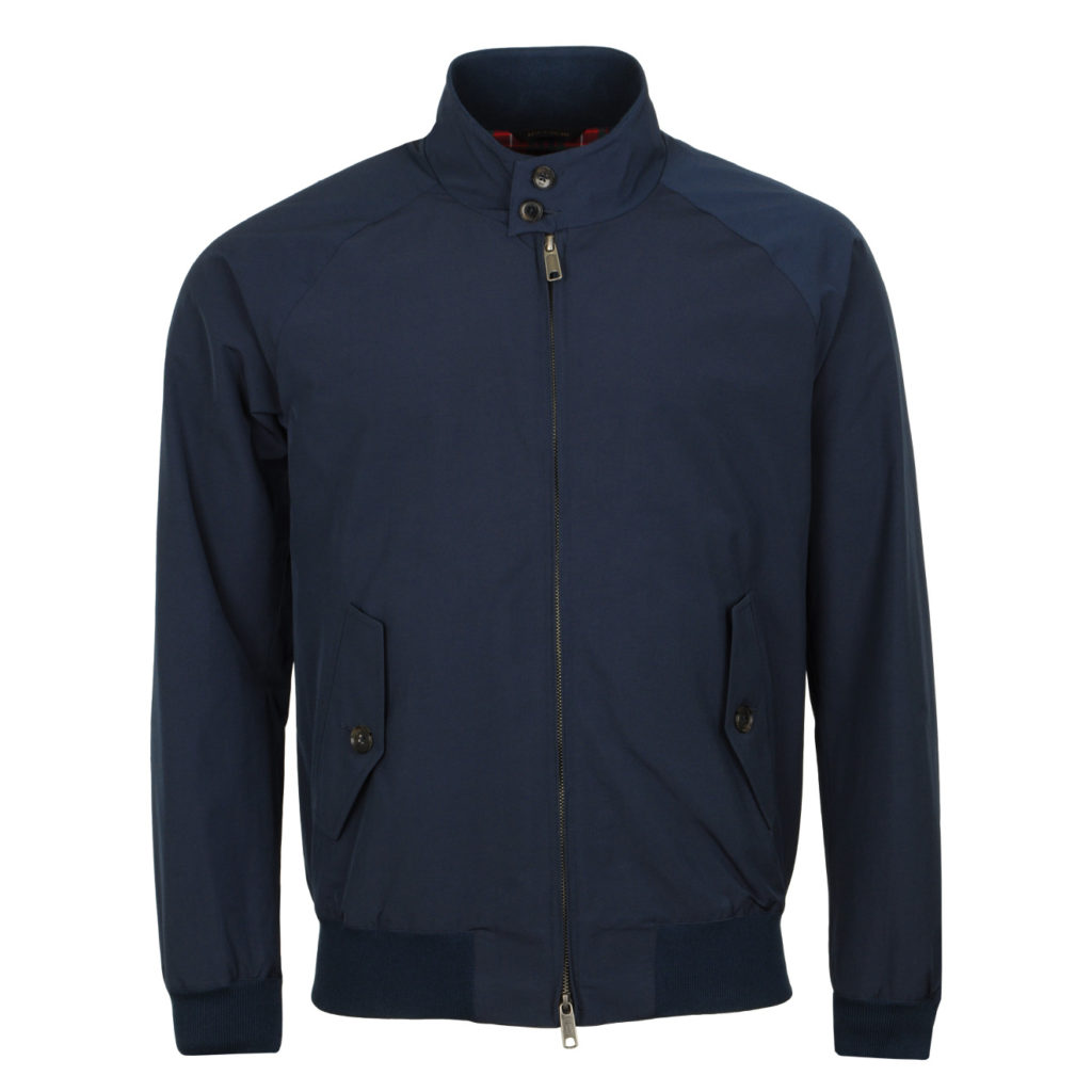 Baracuta Classic Harrington Jacket Navy