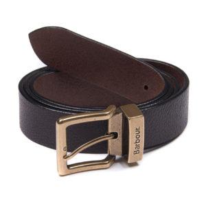 Barbour Blakely Belt Dark Brown