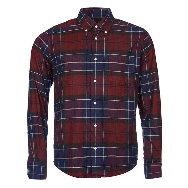 Barbour Lustleigh Shirt Merlot