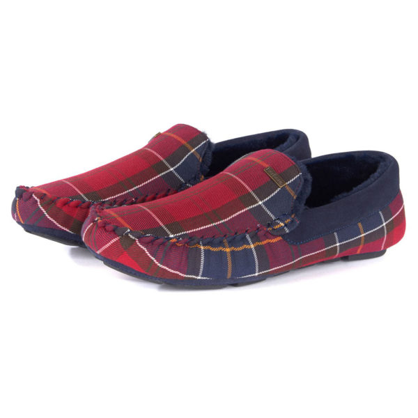 Barbour Monty Slippers Merlot