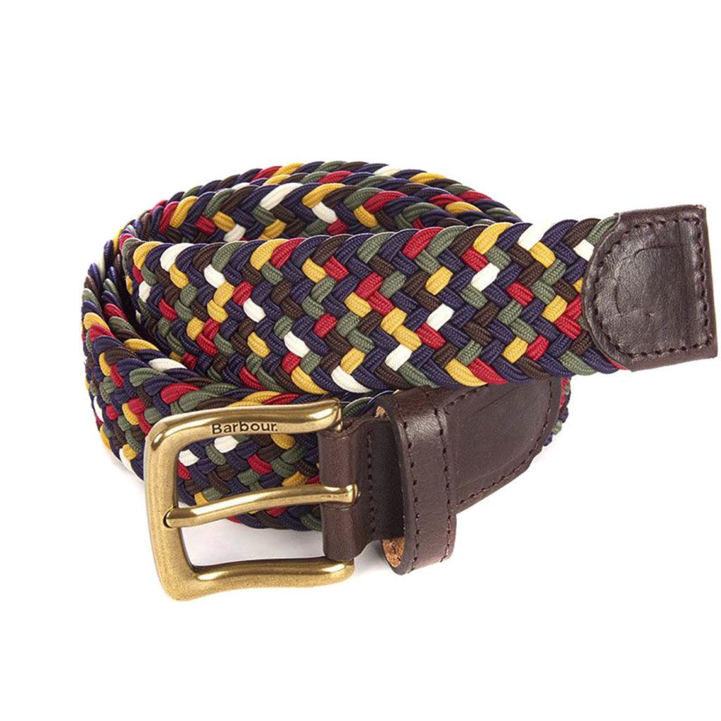 Barbour Tartan Coloured Belt Classic Tartan