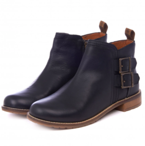 Barbour Womens Sarah Low Buckle Boots Black