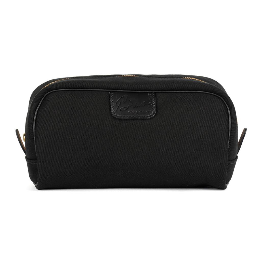 Brady Canvas Wash Bag Black