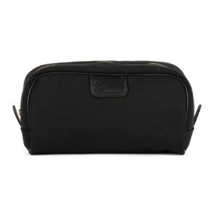 Brady Canvas Wash Bag Black
