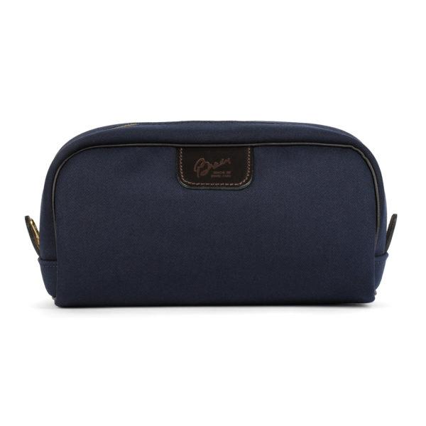 Brady Canvas Wash Bag Navy