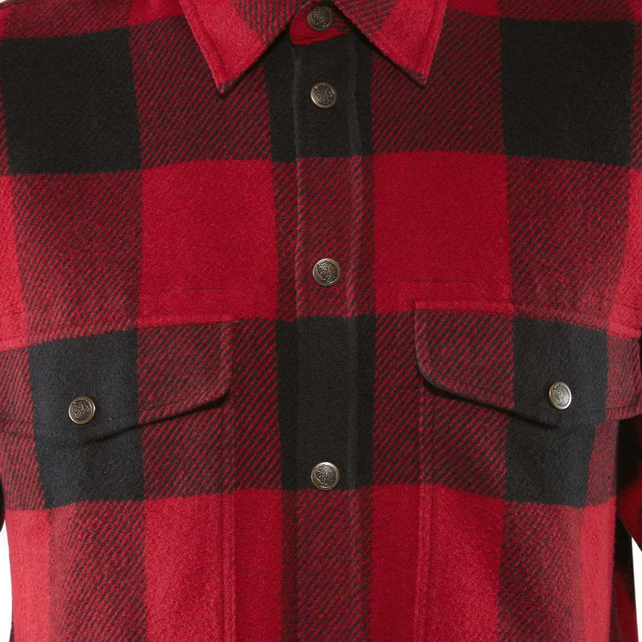 a5dd6e7b389 Fjallraven Canada Shirt Red - The Sporting Lodge