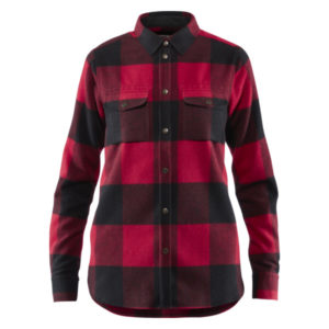 Fjallraven Womens Canada Shirt red