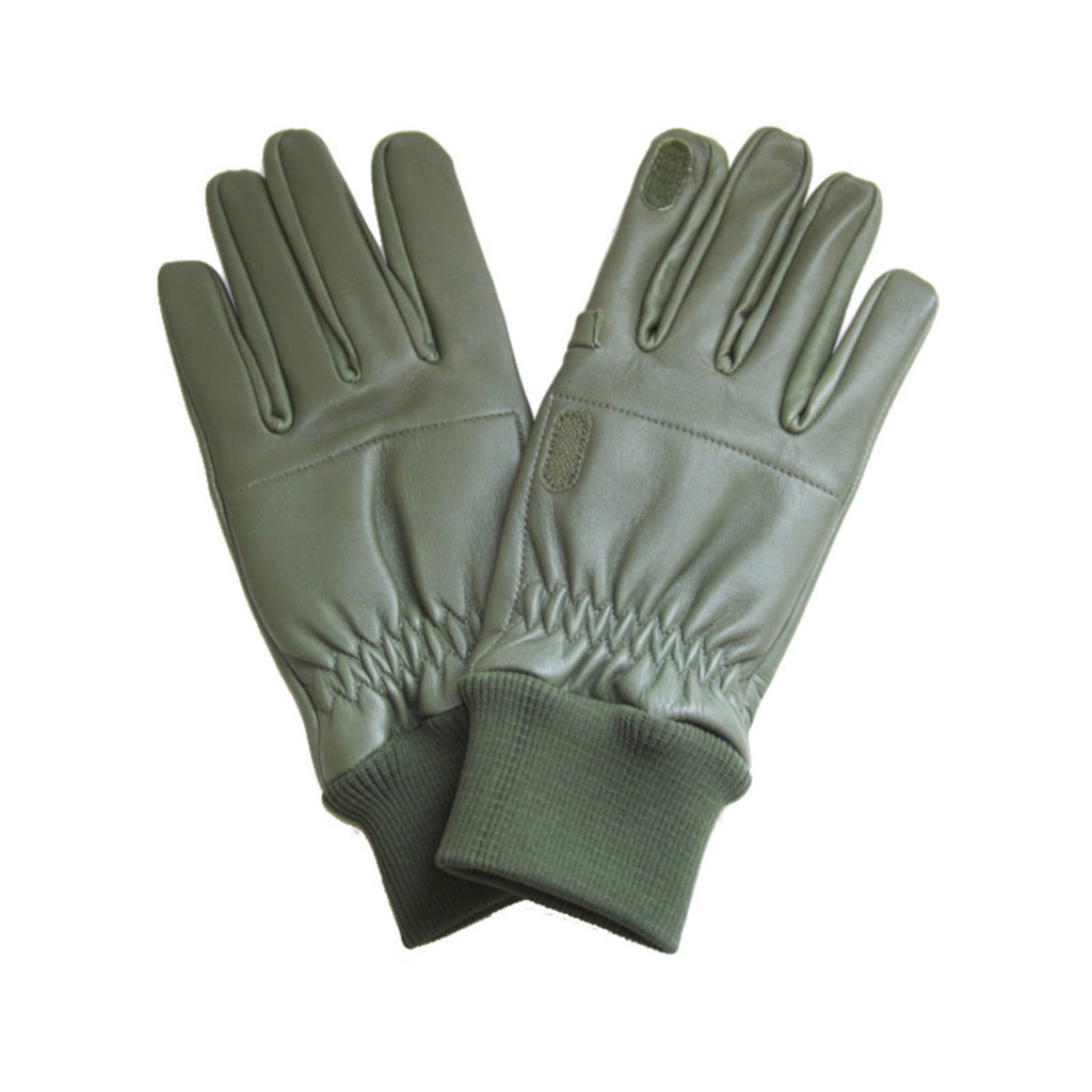 GMK Leather Shooting Gloves RH Green