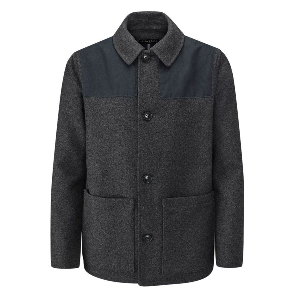 Gloverall Donkey Jacket Charcoal