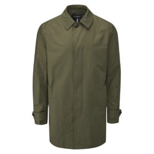 Gloverall Mac Car Coat Khaki