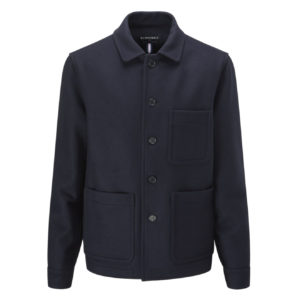 Gloverall Moss Jacket Navy