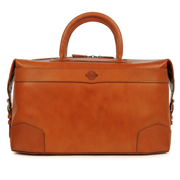 James Purdey 24HR Leather Bag London Tan