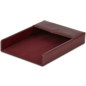 James Purdey Audley Leather Desk Tray