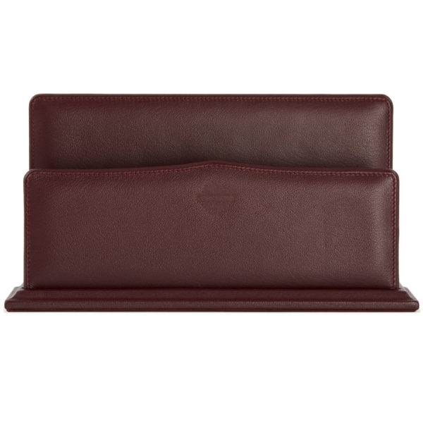 James Purdey Audley Leather Letter Rack
