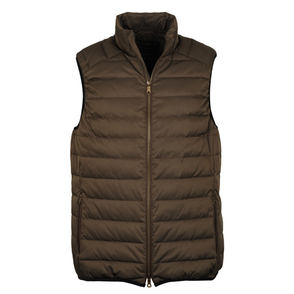 James Purdey Down Gilet Green 2