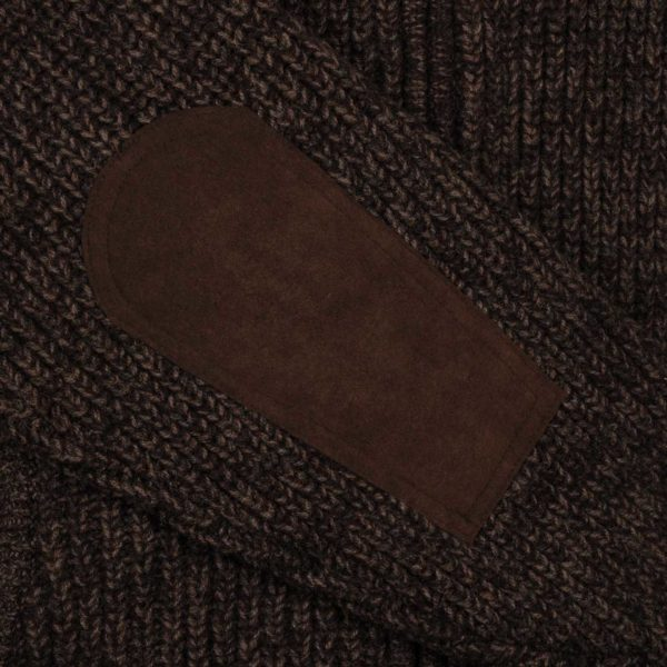 James Purdey Knitted Shooting Jacket Walnut 2