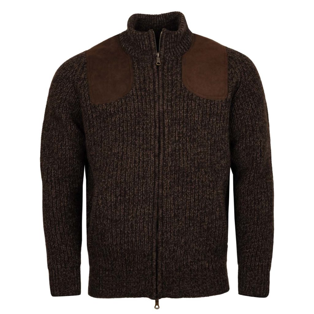James Purdey Knitted Shooting Jacket Walnut 5