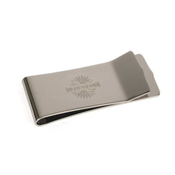 James Purdey Starburst Money Clip Stainless Steel