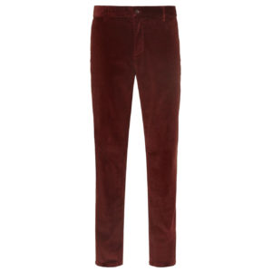 James Purdey Needlecord Trousers Rust