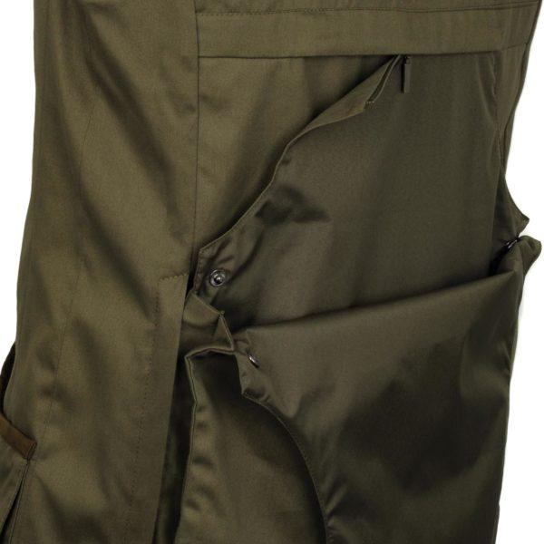 James Purdey Quail Shooting Vest Khaki Green 3