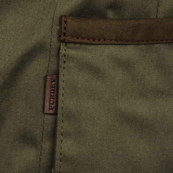 James Purdey Quail Shooting Vest Khaki Green 4