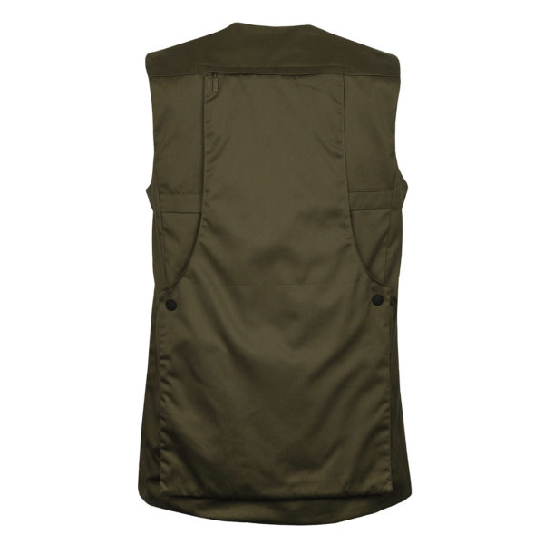 James Purdey Quail Shooting Vest Khaki Green