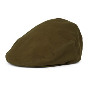 James Purdey Short Peak Ventile Cap Bronze Green