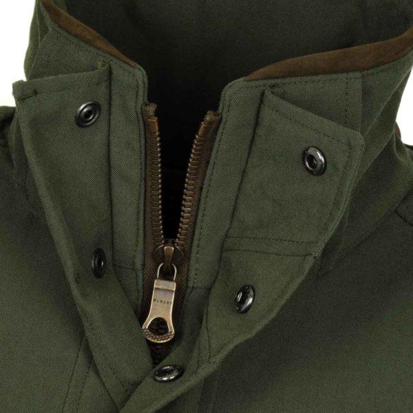 James Purdey Snipe Shooting Jacket Green 2