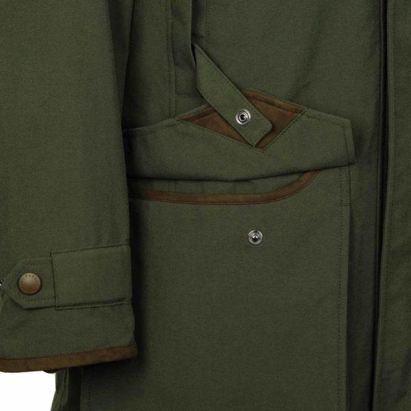 James Purdey Snipe Shooting Jacket Green 3