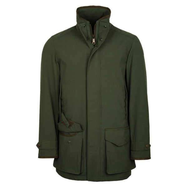 James Purdey Snipe Shooting Jacket Green 4