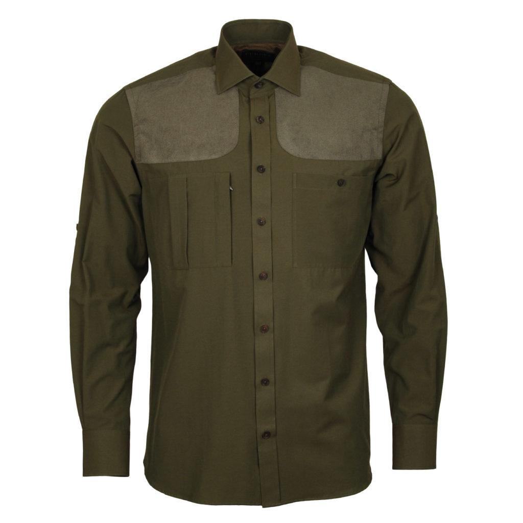 James Purdey Technical Shirt Khaki Green 2