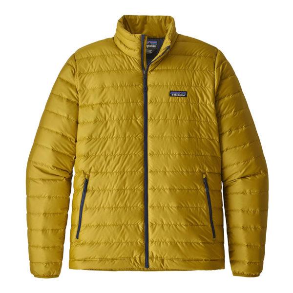 Patagonia Down Sweater Puffer Jacket Textile Green