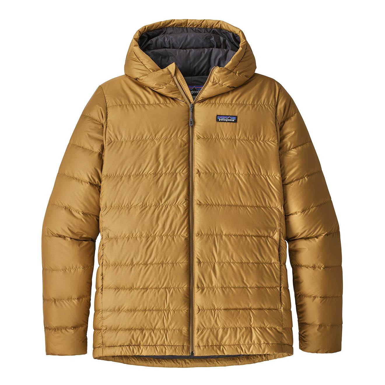 Patagonia Hi Loft Down Hoody Jacket Kastanos Brown The