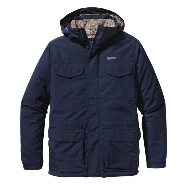 Patagonia Isthmus Parka Jacket Navy Blue