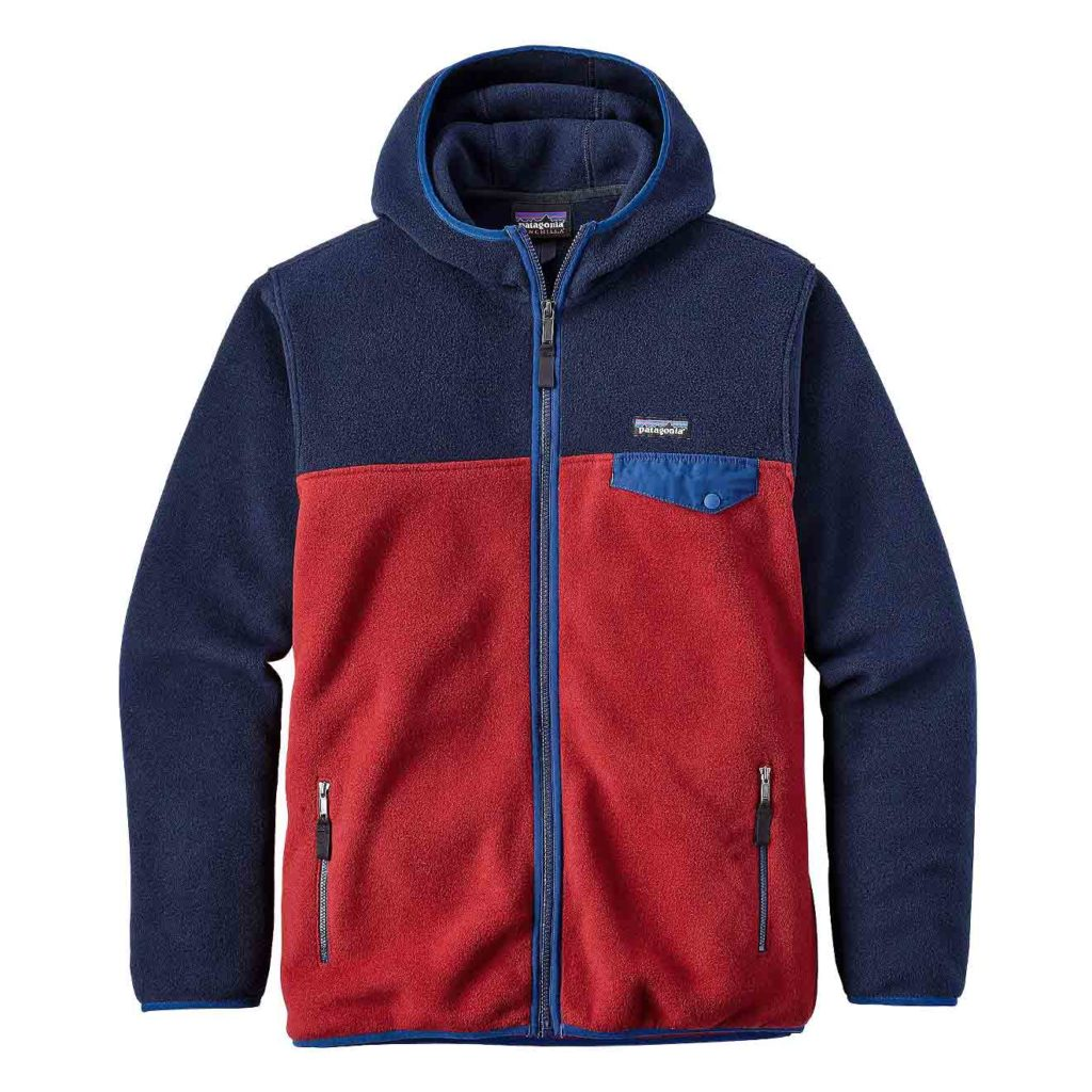 Patagonia Lightweight Synchilla Snap-T Hoody Classic Red