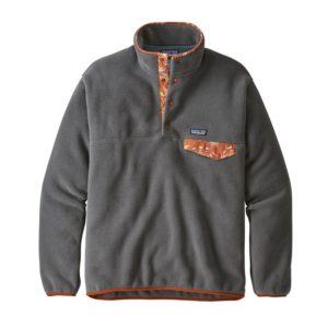 Patagonia Mens Lightweight Synchilla Snap Pullover Fleece Forge Grey
