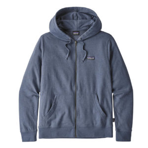 Patagonia P-6 Label Lightweight Full Zip Hoody Dolomite Blue