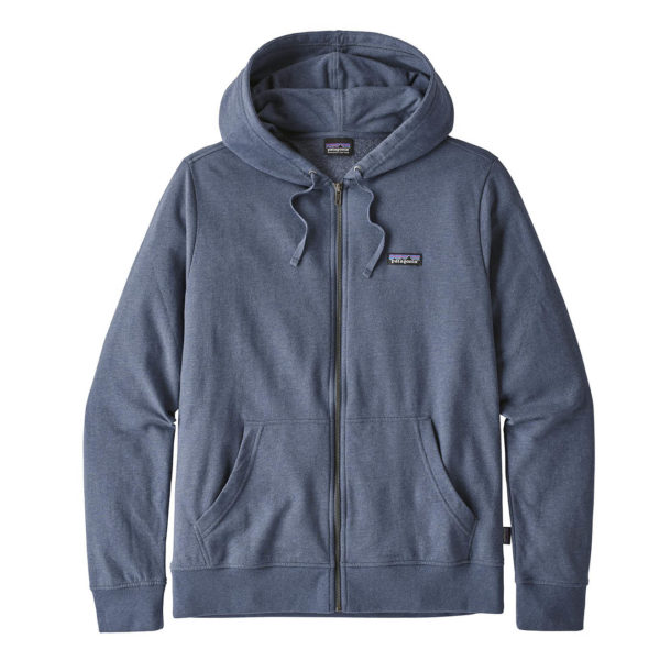 Patagonia P-6 Label Lightweight Full Zip Hoody Dolomite Blue