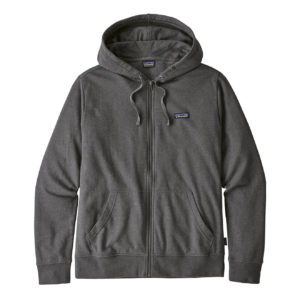 Patagonia P-6 Label Lightweight Full Zip Hoody Forge Grey