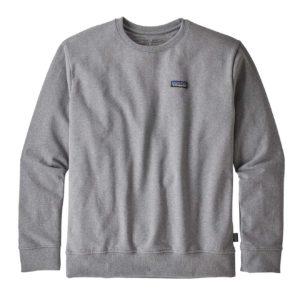 Patagonia P-6 Label Uprisal Crew Sweatshirt Gravel Heather
