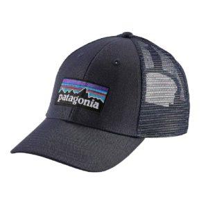 Patagonia P-6 Logo LoPro Trucker Hat Navy