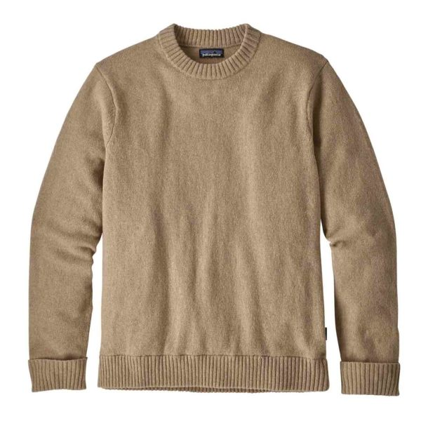 Patagonia Recycled Wool Sweater El Cap Khaki