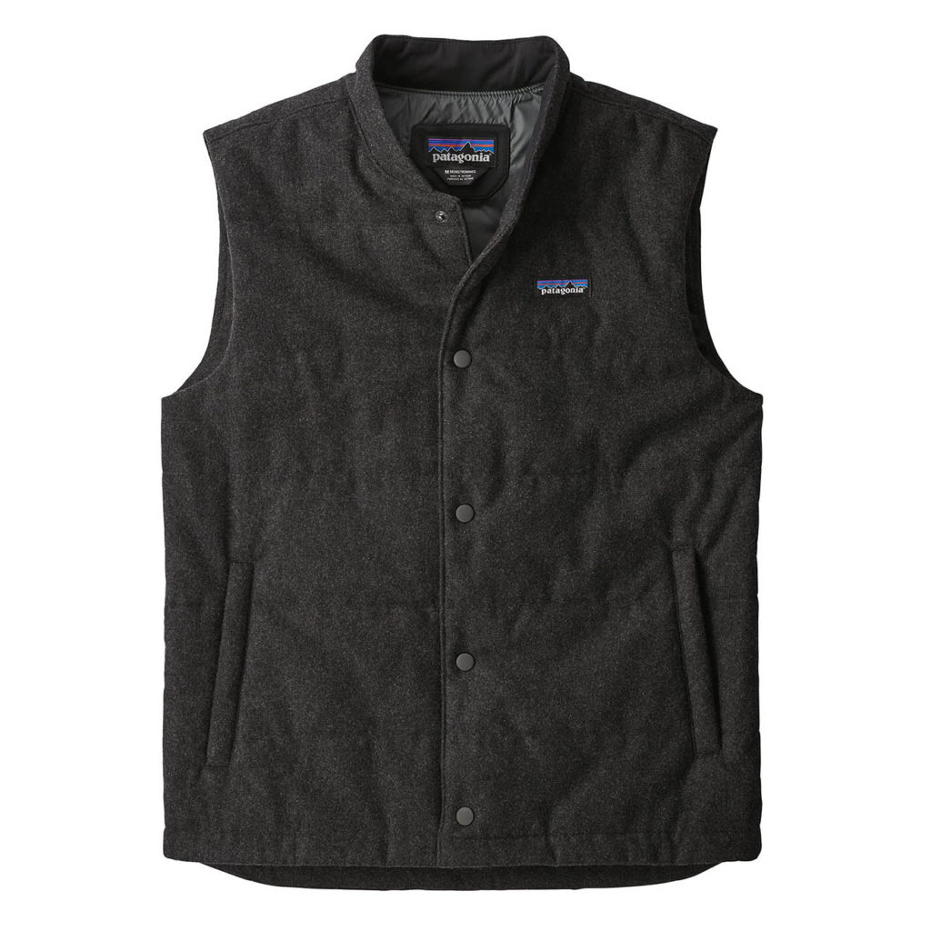 Patagonia Recycled Wool Vest Forge Grey