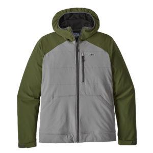 Patagonia Snap Dry Hoody Fishing Jacket Feather Grey