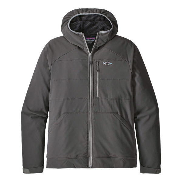 Patagonia Snap Dry Hoody Fishing Jacket Forge Grey