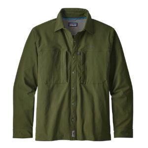 Patagonia Snap Dry Shirt Nomad Green