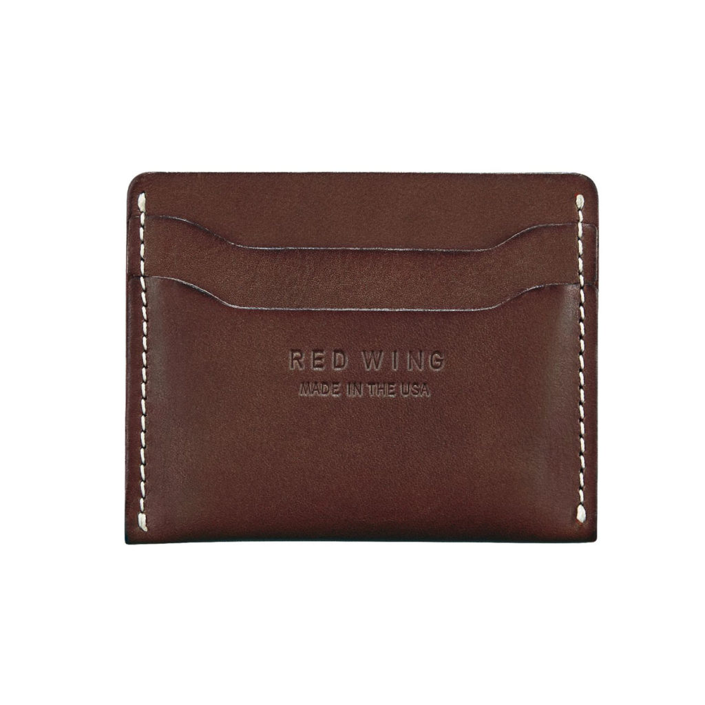Red Wing Card Holder Wallet Amber Frontier