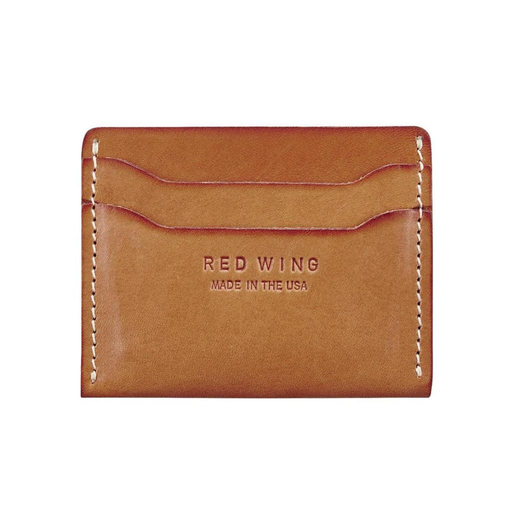 Red Wing Credit Card Holder Stack Wallet London Tan