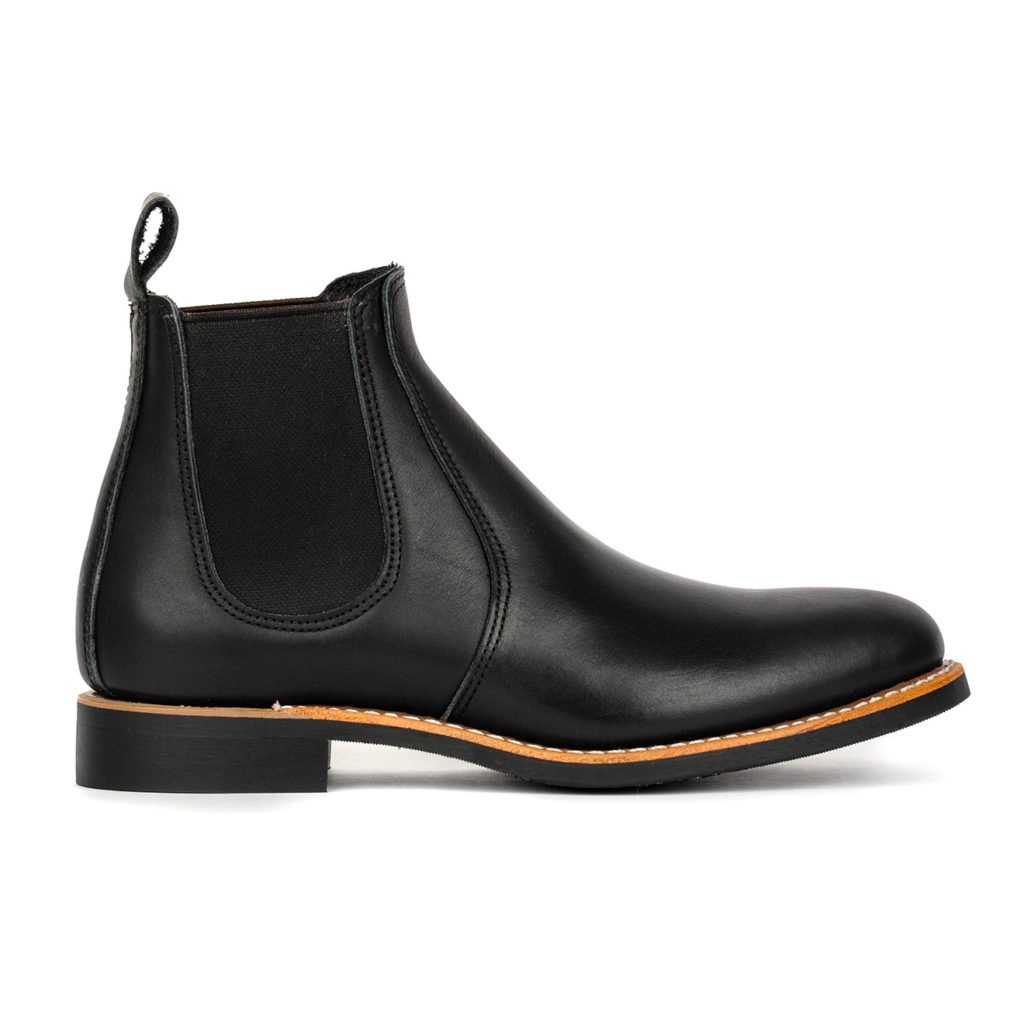 Red Wing Womens 6 Inch Chelsea Boot Black Boundary Leather